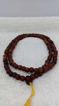 """14.5"""" Genuine Thai Buddha Amulet Prakham Tamarind Wood Necklace For Protect"""