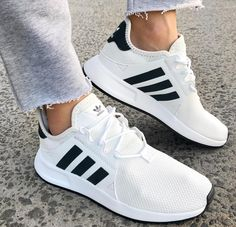 adidas Originals X_PLR in White and Black. Cool sneakers.