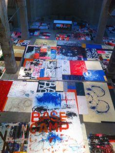 Hermann Josef Hack, Installationsvorbereitung Kunst-Station Sankt Peter, 141215, 2014
