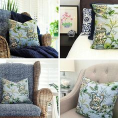 Hamptons House, The Hamptons, Wingback Chair, Home Furniture, Accent Chairs, Throw Pillows, Bed, Home Decor, Upholstered Chairs