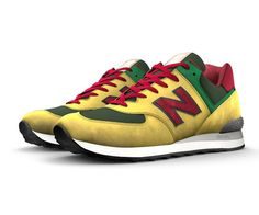 We crafted our first pair of 574s in 1988. Today you can design a NB Custom 574 that's a one-of-a-kind look to match your personal style. The 574 silhouette is the epitome of classic New Balance design – and you can make it completely yours with unique colors, materials and signature details. So start a new trend or go against the grain - you know what you want, and we know how to craft it right.   Need them fast? Order by 4 pm ET and select UPS Express Shipping at checkout for delivery in…
