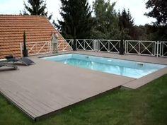 Terrasse mobile pour piscine MovingFloor | Octavia Terrasses mobiles - YouTube