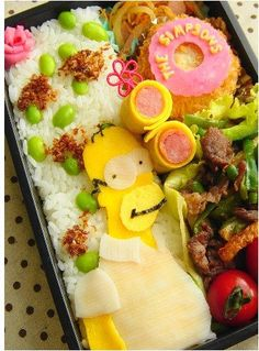 Japanese Lunch Box: Simpsons