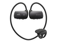 Sony NWZWS613BLK 4 GB Bluetooth Sports Wearable MP3 Player (Black)