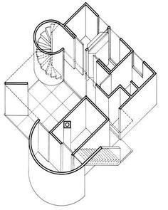 Gwathmey Residence and Studio / Amagansett, NY, USA, 1967 /  Charles Gwathmey (June 19, 1938 – August 3, 2009)