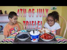 4th of July Trifle | #KidsInTheKitchen | MamaKatTV