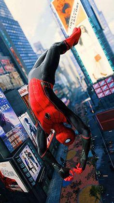 best movie Spider Man : Far From Home ! Marvel Fan, Marvel Heroes, Marvel Characters, Captain Marvel, Marvel Avengers, Marvel Comics, Wallpaper Hd Spiderman, Marvel Wallpaper, Spiderman Art