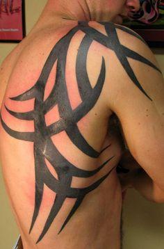 A cool shoulder tattoo