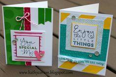 Close To My Heart Adventure Fundamentals & Ribbons, Create Kindness Card Kit.  #createkindness
