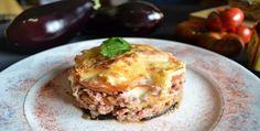 Pastel de carne al horno con berenjenas, patatas y Jugo Seasoning Maggi