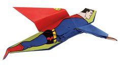 Origami Superman to the rescue! #DCSuperHeroesOrigami #Batmanday