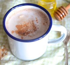 Winterdrink - Rens Kroes 250 ml water  100 ml romige kokosmelk  ½ theelepel…