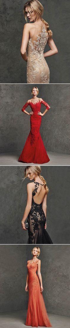 Dress to Impress! 32 Stunning Fashion-forward Reception Gowns - Pronovias!