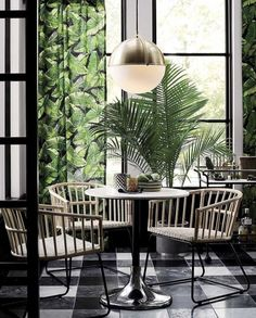 If you are looking for tropical dining room curtains you've come to the right place. We have 20 images about tropical dining room curtains including Green Dining Room, Dining Room Design, Modern Tropical, Tropical Decor, Tropical Interior, Tropical Kitchen, Tropical Furniture, Tropical Homes, Tropical Colors