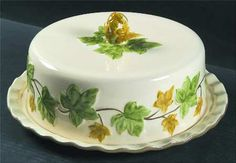 Covered cake plate, www.replacements.com