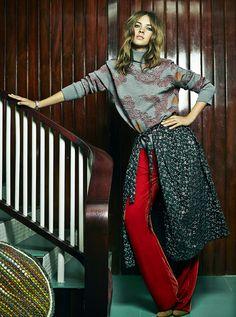 djaja baecke by tomas de la fuente for telva october 2015 | visual optimism; fashion editorials, shows, campaigns & more!