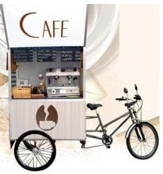 French bike cafe