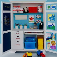 like this idea to use on walk in toy store