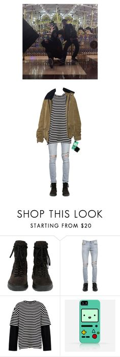 """""""Minsoo ✘ Date at the amusement park with Minrin"""" by x-weapon ❤ liked on Polyvore featuring April 77, Juun.j, Samsung, men's fashion and menswear"""
