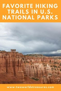 U.S. National Parks | Favorite hiking trails | several travel bloggers shared their favorite trails in the #U.S.NationalParks with you. Read along and find out which trail that you must do on your next visit to the #nationalparks.