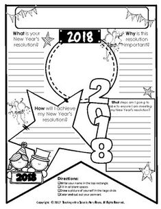 New Years 2018 Resolution Updated Yearly