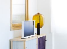 The Bouroullec brothers' first foray into electronics for Samsung looks like part of the furniture via Frameweb.com