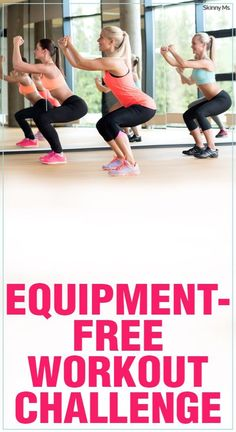 Getting fit and toned doesn't necessarily mean pumping iron. These workouts help achieve that goal with no equipment at all! #workouts