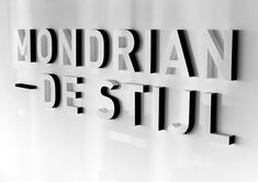 #signage #wall #signalétique #espace #typography