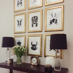 DIY Inkblot Wall Art - from selfstyled.com Diy Wall Art, Diy Art, Wall Decor, Office Wall Art, Office Decor, Rorschach Art, Counselling Room, Living Room Art, Table Covers