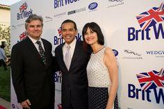 Mayor Antonio Villaraigosa with Bob & Sharon Peirce