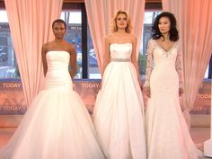 Wedding dresses inspired by Carrie Underwood, J.Lo.