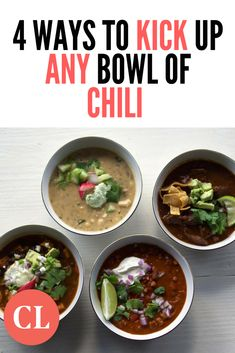Here, we collected treasured chili-making secrets, gathered from our team of food editors. Each guarantees you'll scratch the most flavor out of your chili whether you make it weekly or once in a blue moon. Cooking Light Recipes, Cooking 101, Blue Moon, Simple Way, Fall Recipes, Chili, Lunch, Beef, Dishes