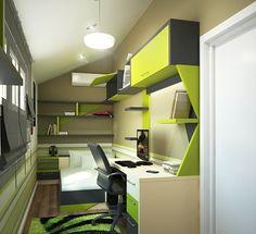 Kleines Kinderzimmer einrichten - 56 Ideen für Raumlösung ...