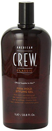 American Crew Firm Hold Styling Gel, 33.8-Ounce Bottle * Want additional info? Click on the image.
