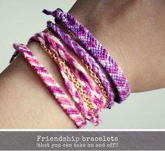 I am Style-ish {Seattle Fashion and Beauty Blog}: Friendship Bracelets Tutorial