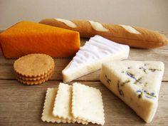 Felt Cheese Platter by milkfly on Etsy