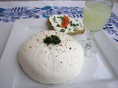 "Domácí ""Lučina"" – Dobré tipy domů Kefir, Camembert Cheese, Dairy, Food And Drink, Healthy Recipes, Homemade, Meals, Diet, Mascarpone"