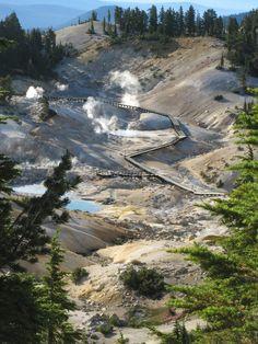Bumpass Hell, Lassen Volcanic National Park, California - July 2014
