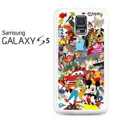All Walt Disney Character Samsung Galaxy S5 Case