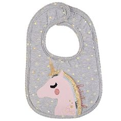 Fantastical Unicorn Glitter Baby Bib Shop Mud Pie Now! Unicorn Baby Outfit, Baby Unicorn, Unicorn Baby Clothes, Mud Pie Baby, Unicorn And Glitter, Stretchy Headbands, Baby Store, Girls Accessories, Baby Sewing