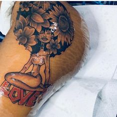 Tattoos for men Girl Thigh Tattoos, Hip Tattoos Women, Dope Tattoos, Girly Tattoos, Pretty Tattoos, Leg Tattoos, Body Art Tattoos, Tattoos For Guys, Tatoos