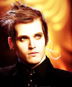 Mikey Way - He looks so angelic.  -  Credit to MCRdeviantClub