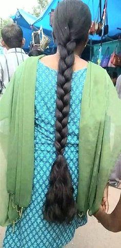 Open Hairstyles, Plaits Hairstyles, Indian Hairstyles, Long Silky Hair, Super Long Hair, Beautiful Braids, Beautiful Long Hair, Indian Braids, Indian Long Hair Braid