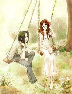 Severus Snape & Lily Evans
