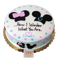 mickey or minnie gender reveal - Google Search