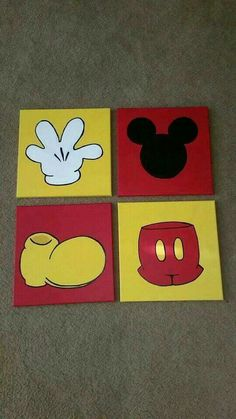Painting ideas disney canvases mickey mouse 41 Ideas Drawing Tips mickey mouse drawing Disney Canvas Paintings, Disney Canvas Art, Simple Canvas Paintings, Art Disney, Small Canvas Art, Mini Canvas Art, Cute Paintings, Disney Ideas, Painting Canvas