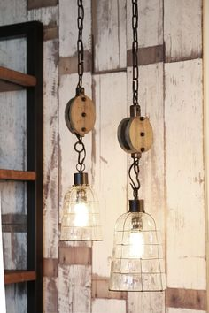 Light & Living Jente hanging lamp with pulley 58 x - Glass Lamp, Ceiling Lamp, Pendant Ceiling Lamp, Lamp, Lights, Hanging Lamp, Live Light, Pendant Light, Light