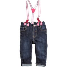 Jeans - from H&M ($20) found on Polyvore So cute! Love these!! #HM HMKids