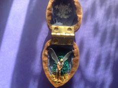 Folk Art Fairy in Walnut Shell by jhan19414141