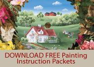 Free Tole Painting Patterns Chickens | ArtistsClub.com : Tole Painting and Decorative Painting Supplies ...